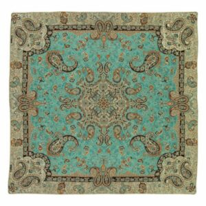Termeh, Persian Style Tapestry Silk Tablecloth Code 13