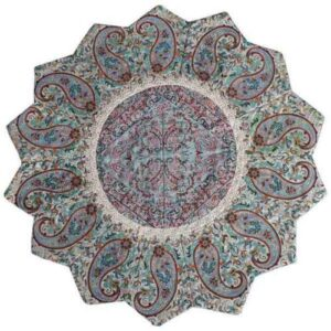Termeh, Persian Style Tapestry Silk Tablecloth Code 14
