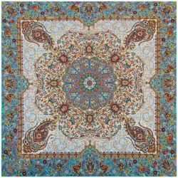 Termeh, Persian Style Tapestry Silk Tablecloth 20