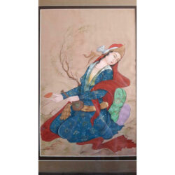 Persian Miniature Hand Painting, Traditional Style