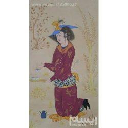 Persian Miniature Hand Painting, Safavid era