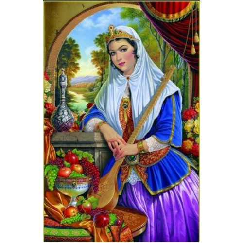 1000 Piece Persian Puzzle - Girl