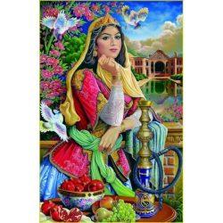 1000 Piece Persian Puzzle - Girl & Hookah