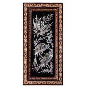 Vintage Persian Copper Wall Art - Ghalamzani