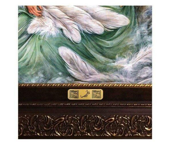 Pictorial Persian Tableau Rug - Miniature M11