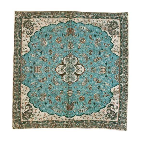 Termeh, Persian Style Tapestry Silk Tablecloth 10