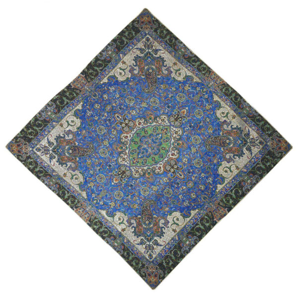 Termeh, Persian Style Tapestry Silk Tablecloth 06