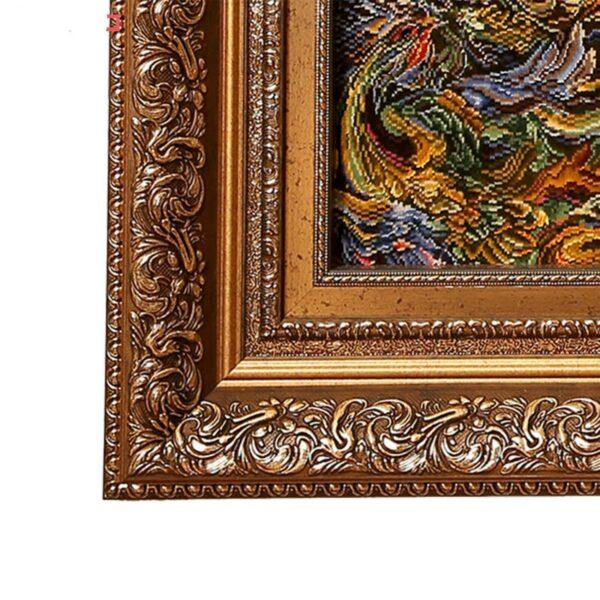 Pictorial Persian Tableau Rug - Miniature 65