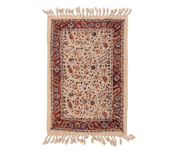 Block Printed (Kalamkari) Tablecloth ds30