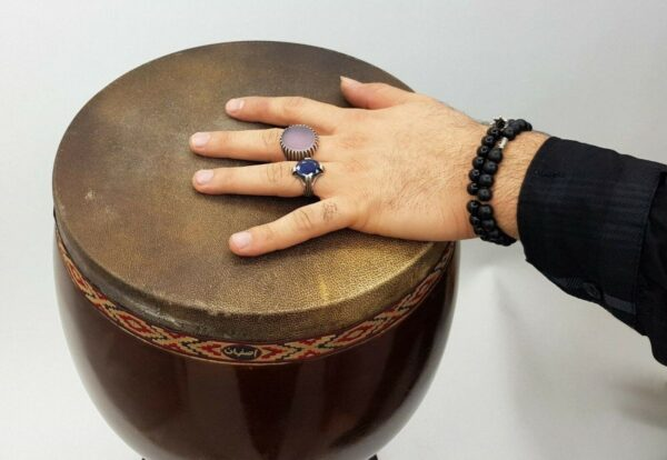 Persian Shirani Tonbak Tombak Zarb Drum 4 Stamps