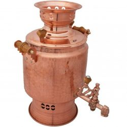 Persian Coal Copper Samovar Model F201