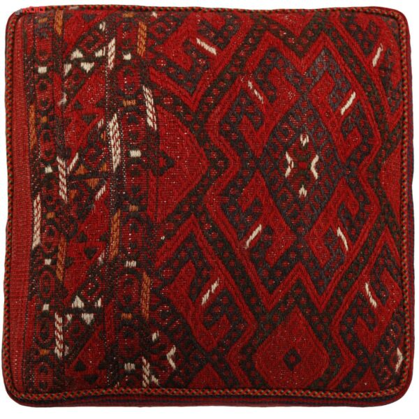 Handmade Persian Kilim Footstool Pouf h100