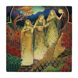 Persian Miniature Art Tile wk179