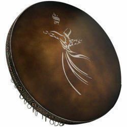 Persian Daf Drum Nagmeh Model Molana