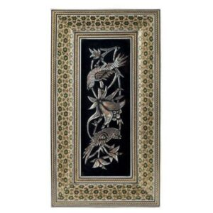 Persian Copper Engraved (Ghalamzani) Wall Hanging Frame 03