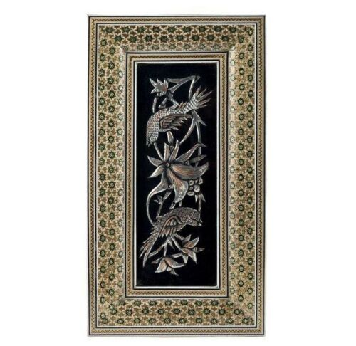 Persian Copper Engraved (Ghalamzani) Wall Hanging Frame 03