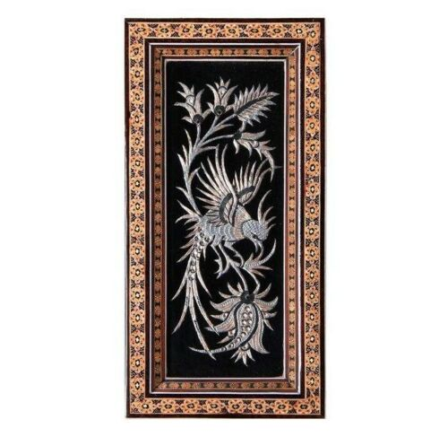 Persian Copper Engraved (Ghalamzani) Wall Hanging Frame 02
