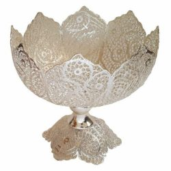 Filigree Silver Nuts Bowl Dish