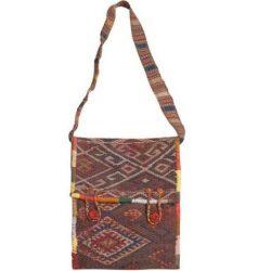 Handmade Persian Kilim Jajim Crossbody Hobo Shoulder Bag