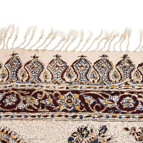 Block Printed (Kalamkari) Tablecloth - Pateh 23