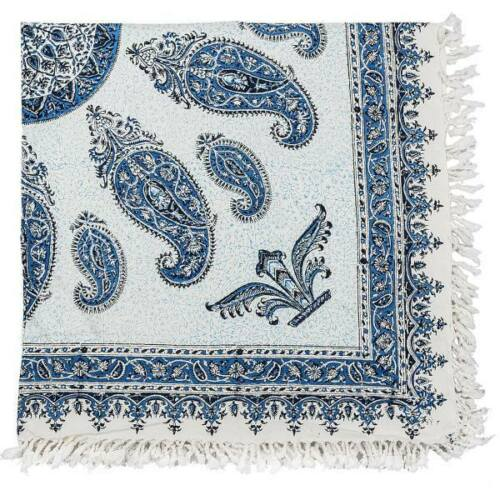 Block Printed (Kalamkari) Tablecloth, Atrian Model 02