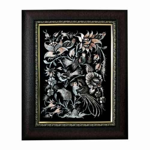 Persian Copper Engraved (Ghalamzani) Wall Hanging Frame
