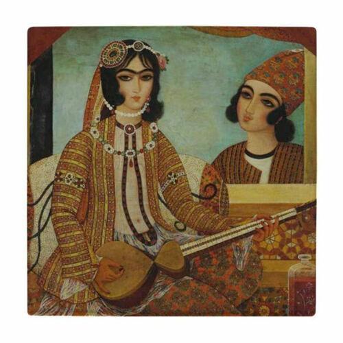 Persian Miniature Art Tile wk139