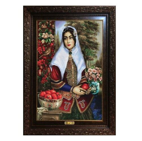 Pictorial Persian Wall Hanging Carpet Tableau Rug, PD11-6635