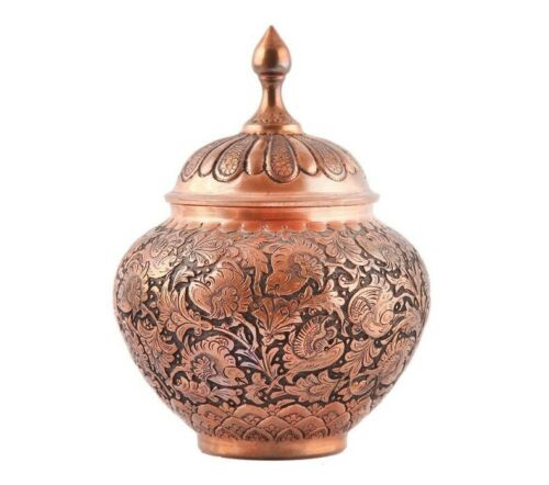 Persian Engraved Copper Candy Bowl Dish 14