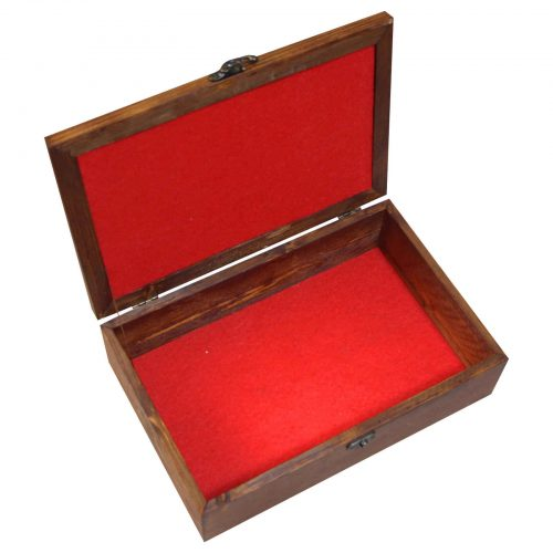 Luxury Wooden Tea Bag Box, Code E15