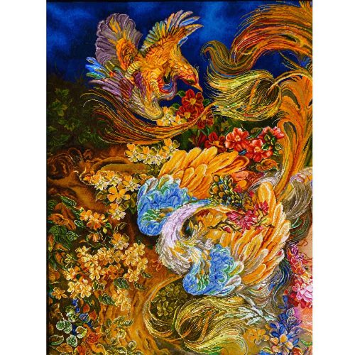 Persian Carpet Tableau Rug TABLO FARSH