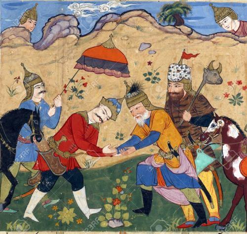 Persian Miniatur