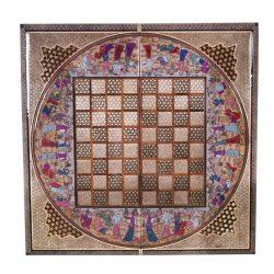 Chess & Backgammon Handmade Board, Khatam Code 116