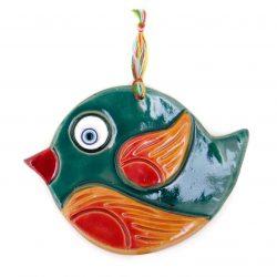 Decorate Clay Pendant, Bird Shape (2x)