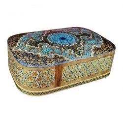 Wooden Playing Card Box Persian Khatam-Kari 10