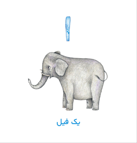 Persian Concept Book for Kids - Count to ten