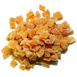 Dried Ginger Cubes, 900 Gram