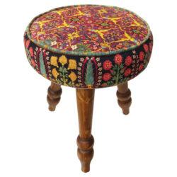 Persian Footstool Pouf Kilim Design FA3LL