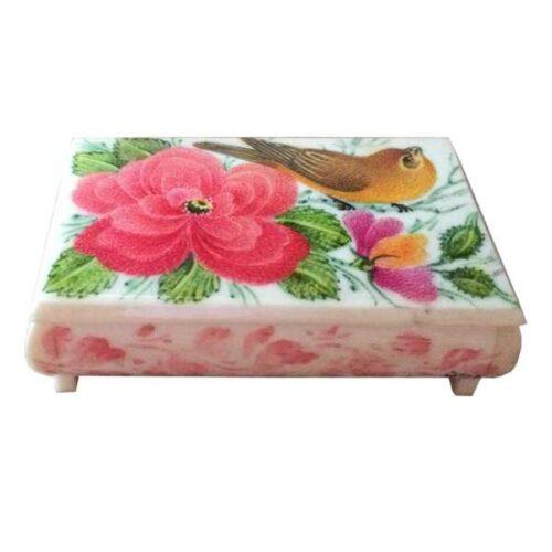 Persian Bone Jewelry box Handicraft B253