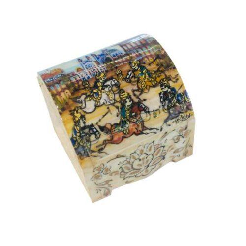 Persian Bone Jewelry box Handicraft B213