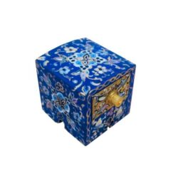 Persian Bone Jewelry box Handicraft Tazhib B225