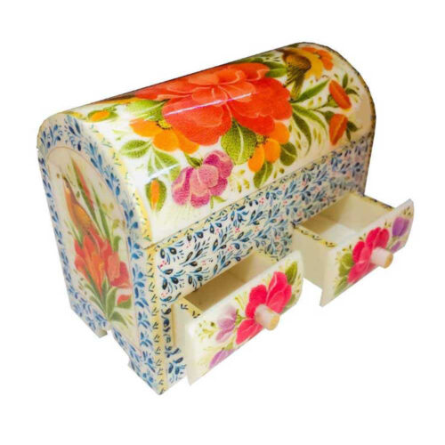 Persian Bone Jewelry box Handicraft B251