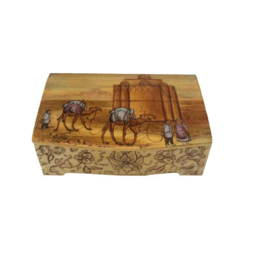 Persian Bone Jewelry box Handicraft B231