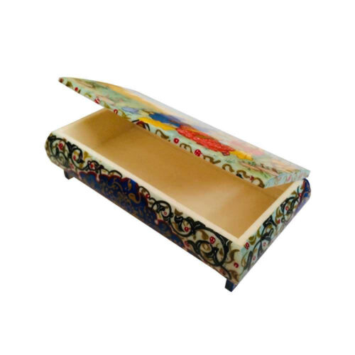 Persian Bone Jewelry box Handicraft Leyli & Majnoon