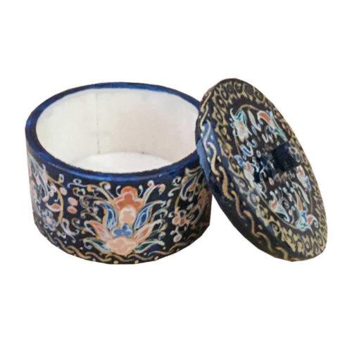 Persian Bone Jewelry box Handicraft Tazhib B261