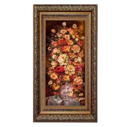 Handmade Persian Tableau Rug - Flower 104