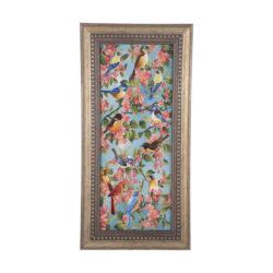 Handmade Persian Tableau Rug - Bird