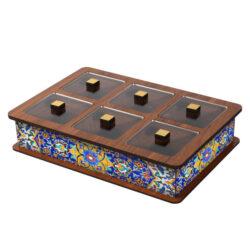 Wooden Tea Bag Box 6051