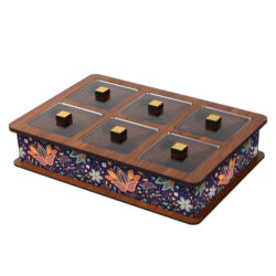 Wooden Tea Bag Box 6052