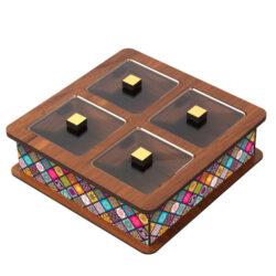 Wooden Tea Bag Box 6013